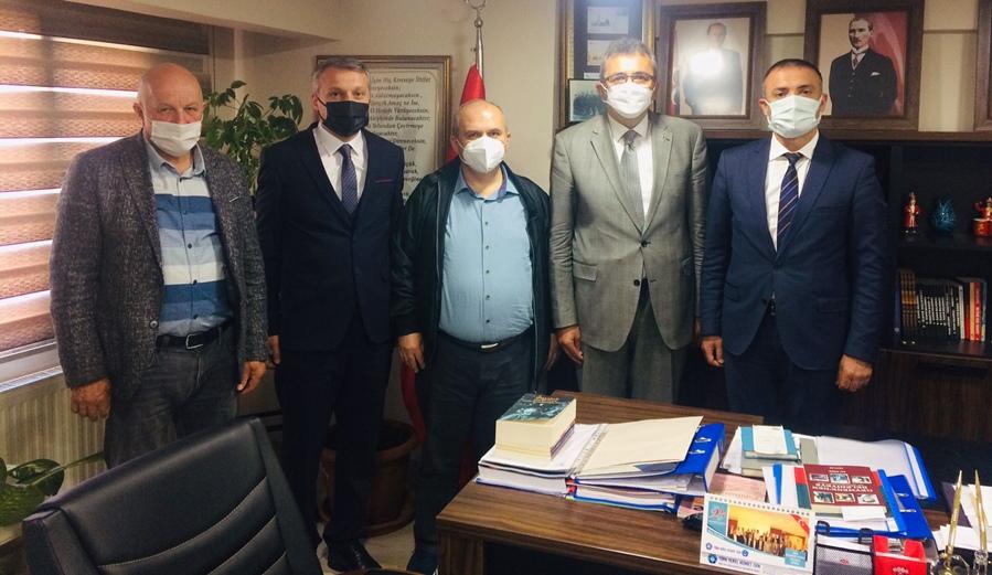 MHP Kastamonu İl Başkanı Emin Çınar'ı ziyaret